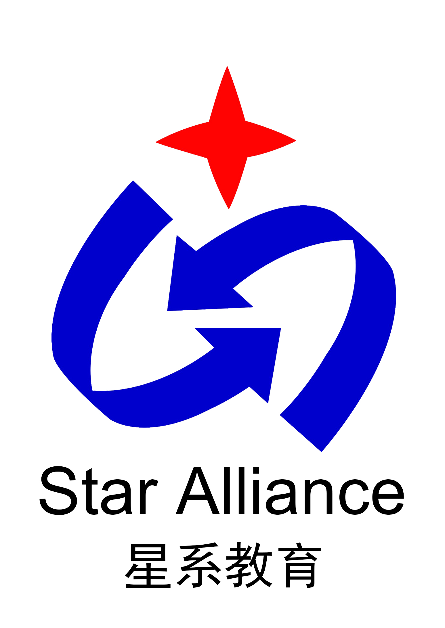 成都星系教育咨�有限公司logo