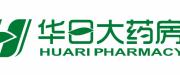 华日大药房logo