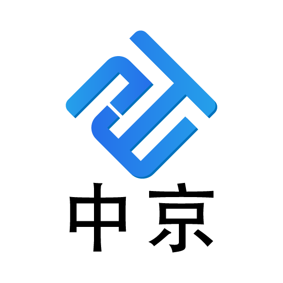 �V州中京知�R�a�喾��沼邢薰�司logo