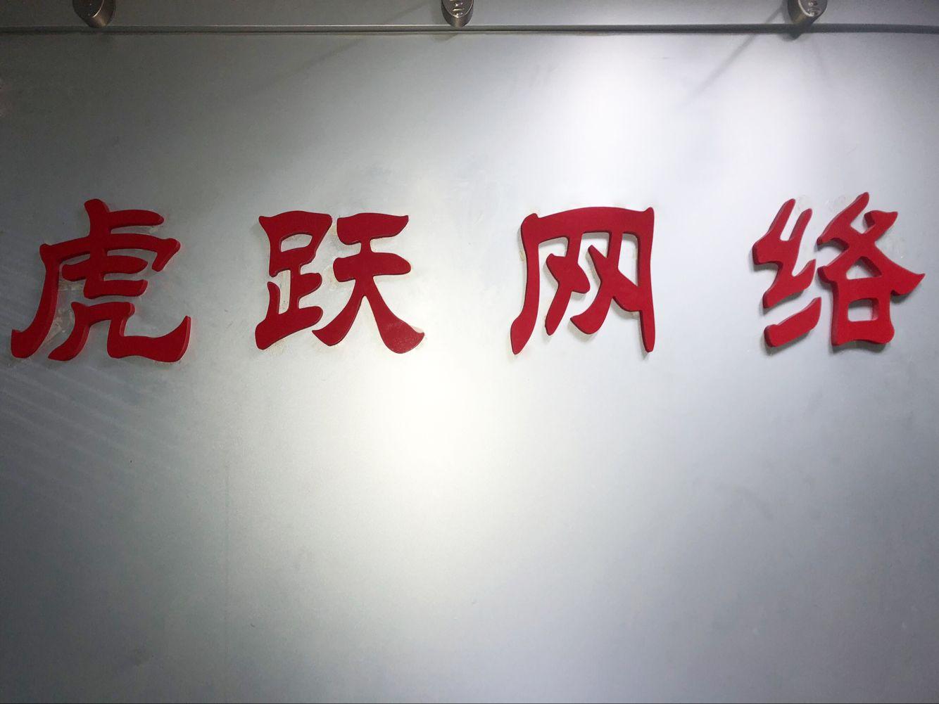 广西南宁虎跃网络有限责任公司logo