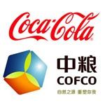 中�Z可口可�凤�料有限公司logo
