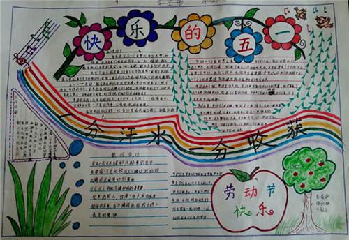 春节古诗手抄报版面设计图展示