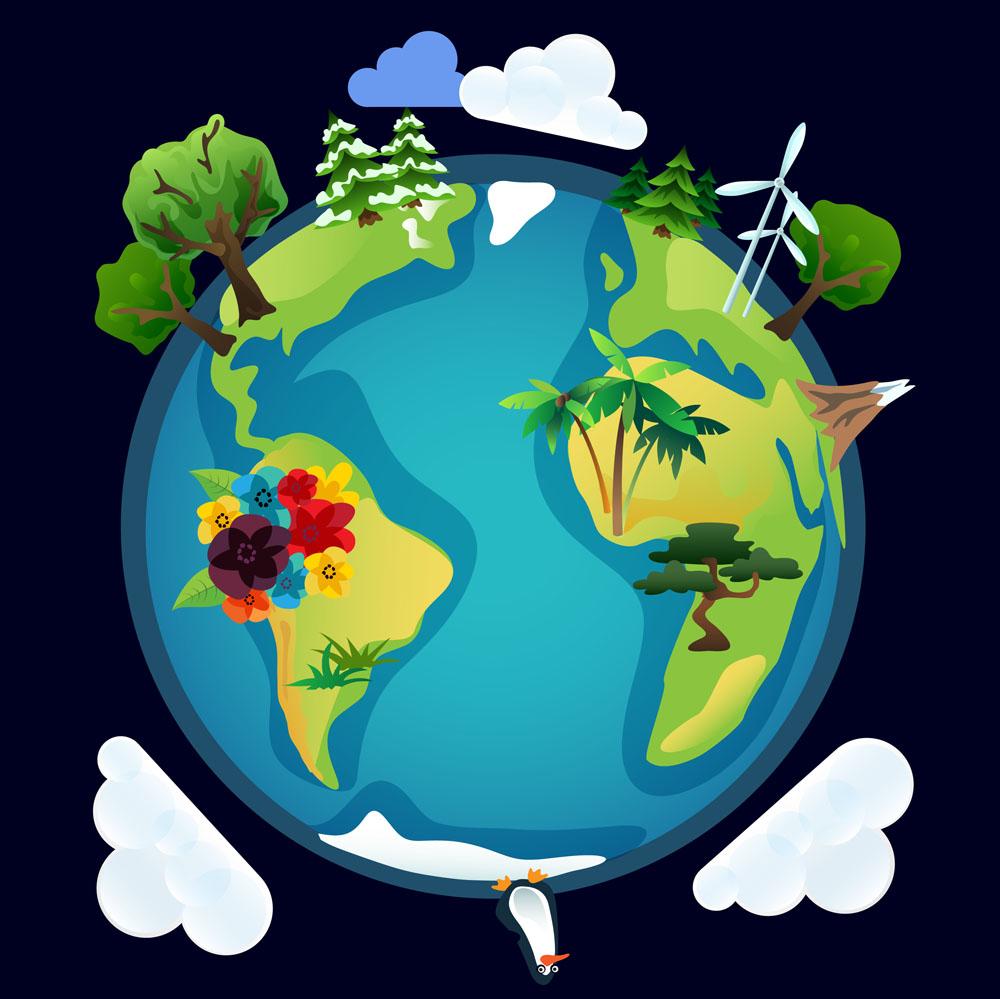 我们的地球 可爱