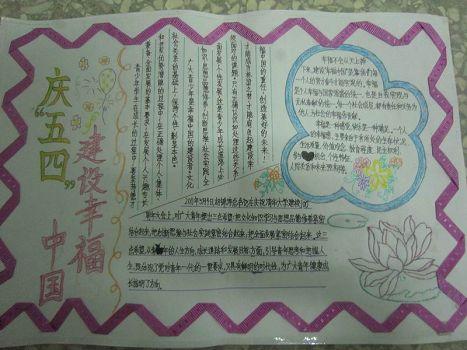 5.4青年节手抄报内容精选图片