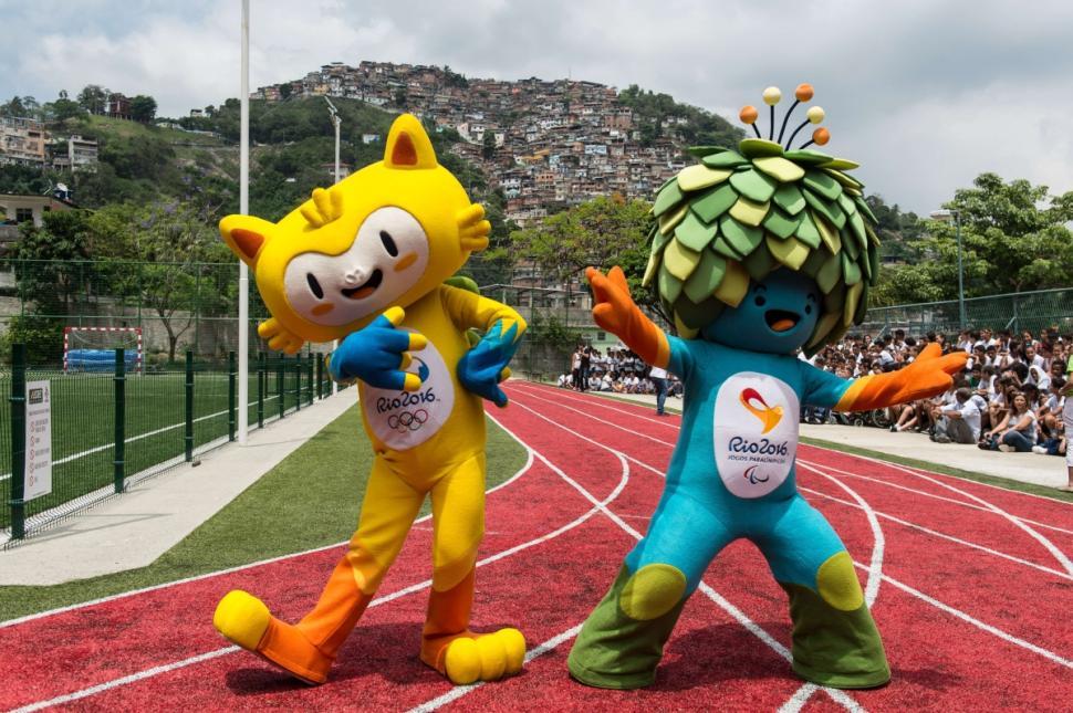 2016里约奥运会吉祥物图片