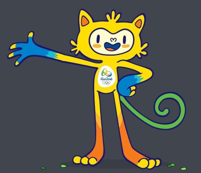 2016年里约热内卢奥运会吉祥物图片
