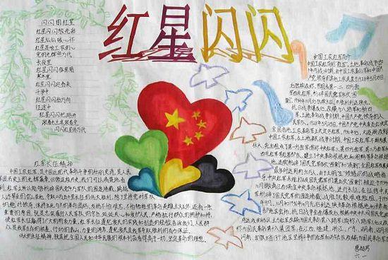 纪念红军长征胜利80周年手抄报图片大全