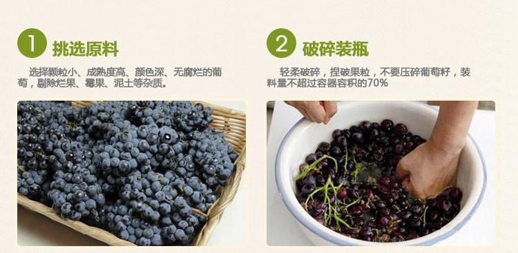自酿葡萄酒的制作方法