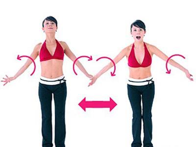 肩周炎的锻炼方法