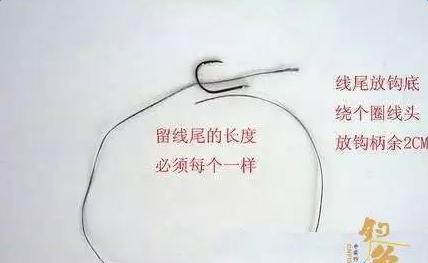 绑鱼钩的方法图解