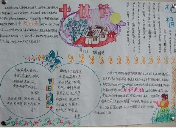 中秋节手抄报图片大全简单又漂亮