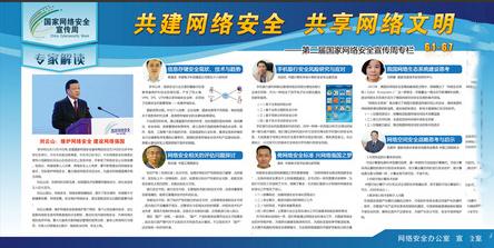 国家网络安全宣传周展板(免费下载)