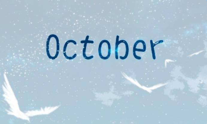 你好十月图片唯美图片