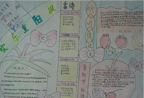 三年级关于重阳节手抄报图片大全图片大全图片