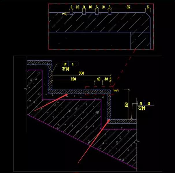 装饰石材CADv石材画法全面打印cad图纸到解析哪个框图片