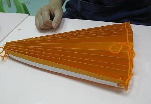 万圣节南瓜灯折纸(图解)