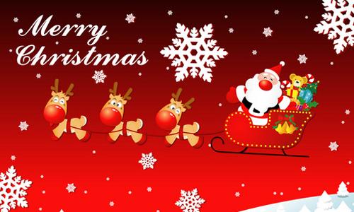 2016年圣诞节的英文祝福语汇总
