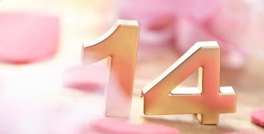 2017每个月的14号是什么情人节