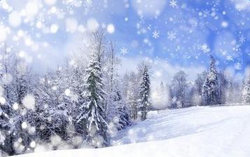 形容第一场雪的说说