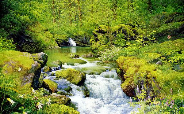 壁纸 风景 山水 桌面 600_373