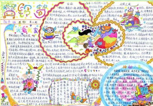 春节手抄报简单又漂亮字又少图片