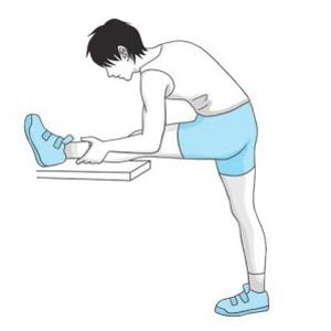 压腿的正确方法图片