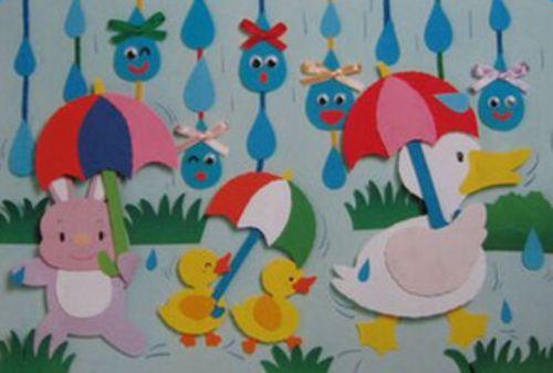 最新幼儿园教室布置图片