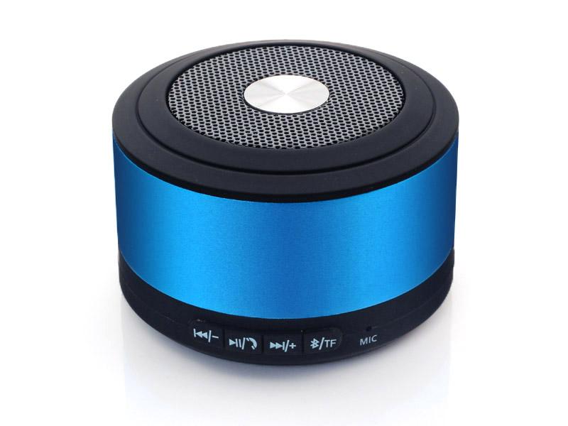 蓝牙音箱可以与智能手机,平板电脑通过蓝牙连接,操作方便,能够带来