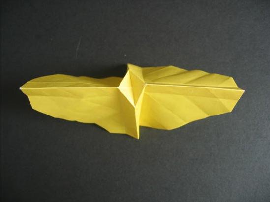 玫瑰花的折法步骤图