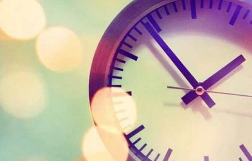 形容时间快的句子