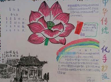 传统文化手抄报内容_传统文化手抄报内容大全
