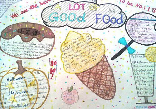 四年级英语手抄报 小学简单的英语手抄报内容集锦高清图片
