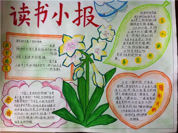 小学语文手抄报版面设计图_语文手抄报内容资料大全