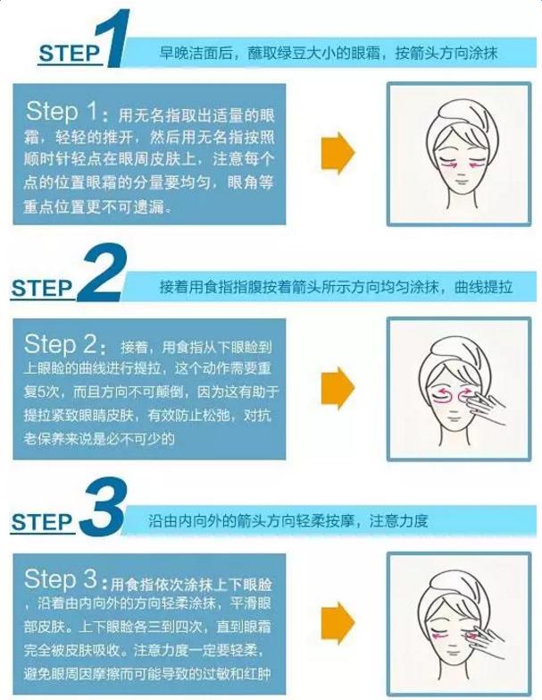 怎么涂眼霜_涂眼霜的正确方法