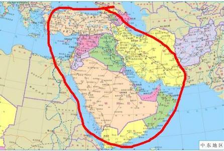 中东国家有哪些?