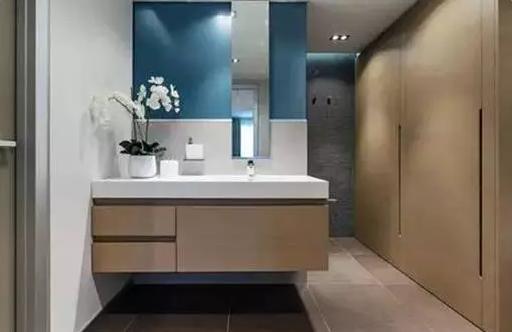 衛生間裝修效果圖_現代家裝衛生間設計效果圖