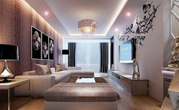 現代家裝設計效果圖_現代風格裝修案例圖