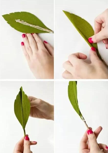 皱纹纸花朵做法大全