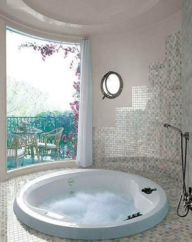 洗手間地磚效果圖_衛生間裝修瓷磚展示圖