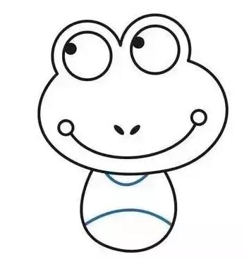 简笔画青蛙的画法步骤